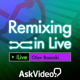 Remixing in Live artwork